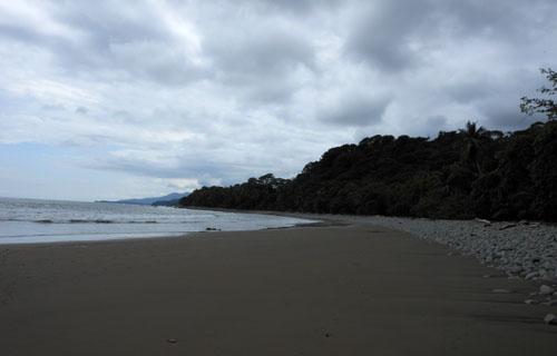 Playa Ventanas: to the north