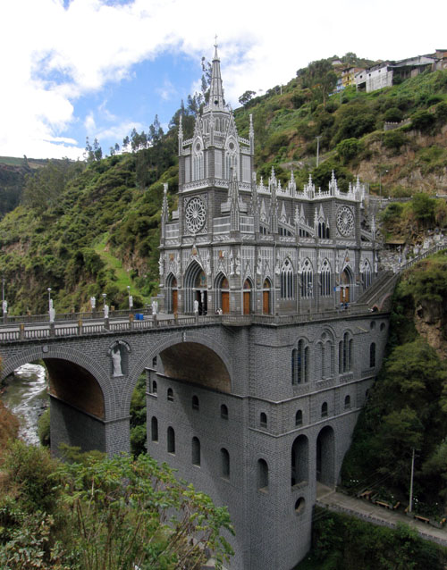 Colombia - Las Lajas Sanctuary