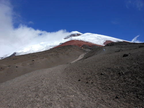Cotopaxi National Park: on the way to refugio
