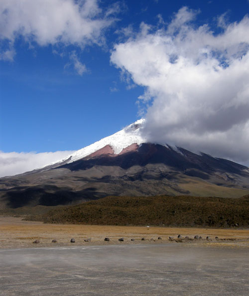 Cotopaxi National Park: saying good-bye to the volcano