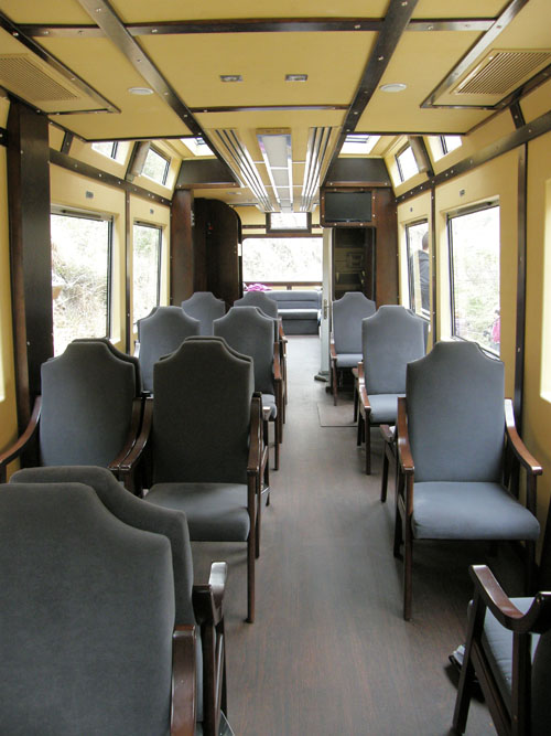 Devil's Nose - train carriage