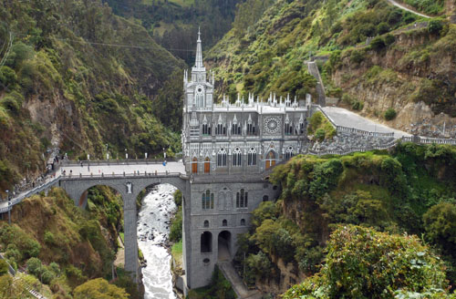 Las Lajas Sanctuary overview
