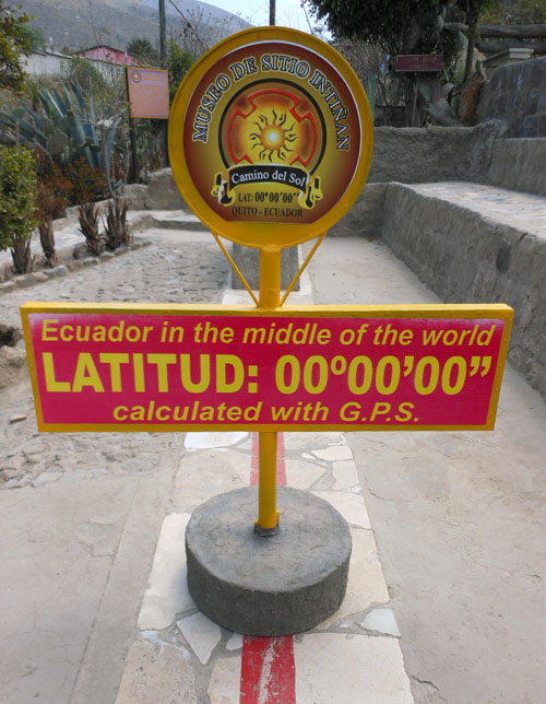 Mitad del Mundo - Inti-Nan Museum: on the Equator line