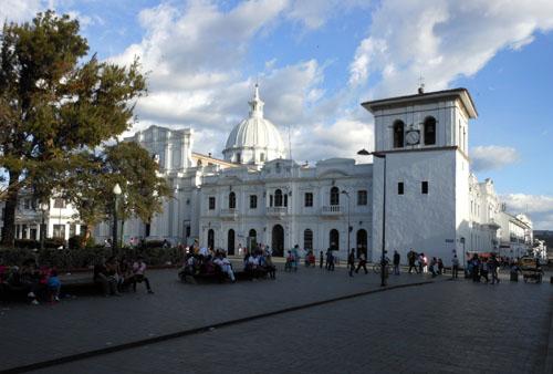 Popayan historic centre