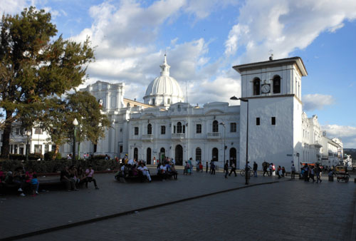 Popayan historic centre