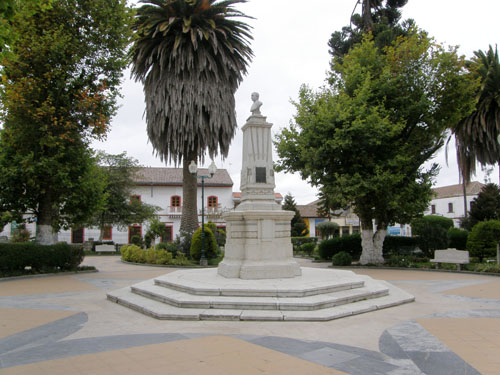 Pujili - main plaza