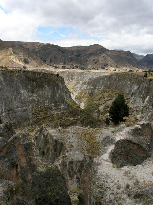 Rio Toachi canyon - viewing point