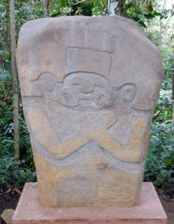 San Agustin Archaeological Park - Forest of the Statues, statue 01