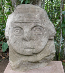 San Agustin Archaeological Park - Forest of the Statues, statue 02