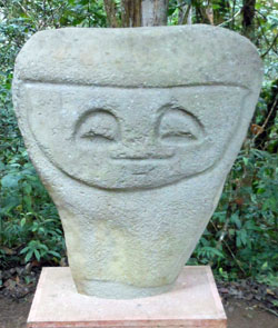 San Agustin Archaeological Park - Forest of the Statues, statue 03