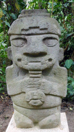 San Agustin Archaeological Park - Forest of the Statues, statue 04