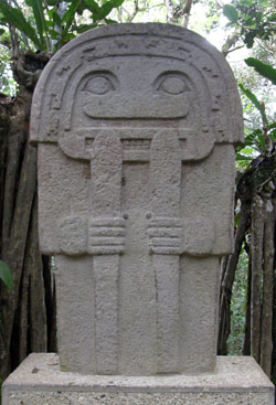 San Agustin Archaeological Park - Forest of the Statues, statue 05