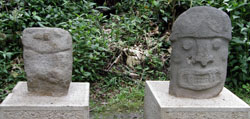 San Agustin Archaeological Park - Forest of the Statues, statue 11