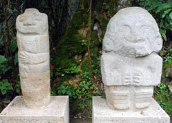San Agustin Archaeological Park - Forest of the Statues, statue 12