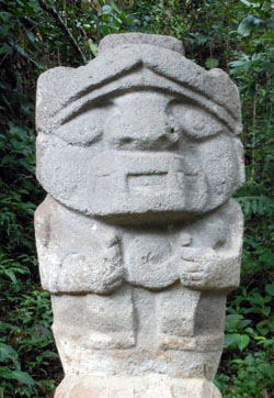 San Agustin Archaeological Park - Forest of the Statues, statue 14