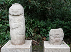 San Agustin Archaeological Park - Forest of the Statues, statue 15