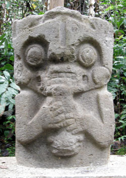 San Agustin Archaeological Park - Forest of the Statues, statue 17