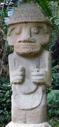 San Agustin Archaeological Park - Forest of the Statues, statue 20