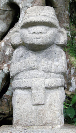 San Agustin Archaeological Park - Forest of the Statues, statue 22