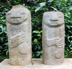 San Agustin Archaeological Park - Forest of the Statues, statue 23