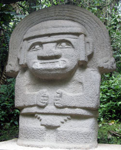 San Agustin Archaeological Park - Forest of the Statues, statue 24
