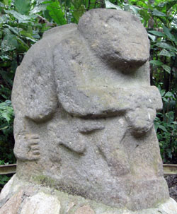 San Agustin Archaeological Park - Forest of the Statues, statue 25