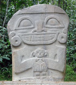 San Agustin Archaeological Park - Forest of the Statues, statue 29