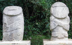 San Agustin Archaeological Park - Forest of the Statues, statue 30