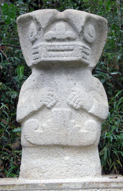 San Agustin Archaeological Park - Forest of the Statues, statue 31