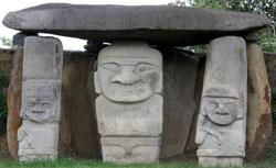 San Agustin Archaeological Park - Mesita A, statue 4