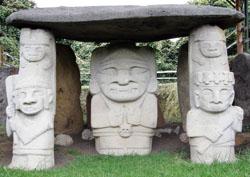 San Agustin Archaeological Park - Mesita B, statue 4