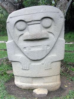San Agustin Archaeological Park - Mesita C, statue 1