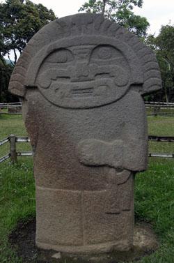 San Agustin Archaeological Park - Mesita C, statue 2