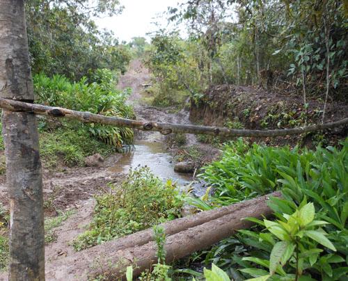 San Agustin: archaeological trail