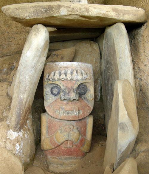 San Agustin: El Purutal statue 2