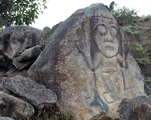 San Agustin: La Chaquira
