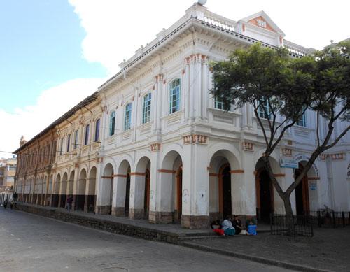Cuenca - historic centre street