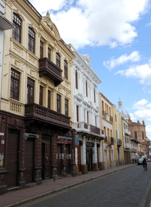 Cuenca - historic centre