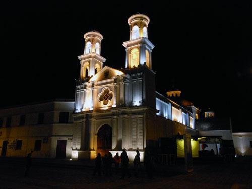 Ecuador - Latacunga church
