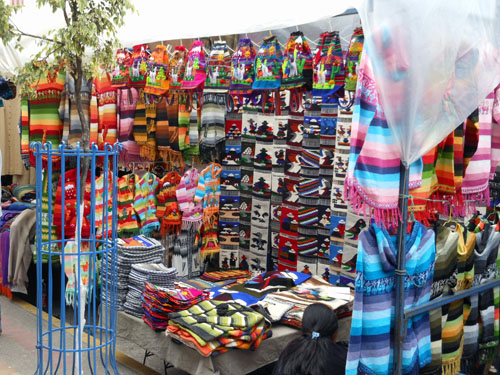 Ecuador - famous Otavalo saturday market