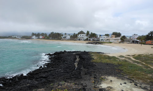 Isabela, Galapagos - sandy beaches of Puerto Villamil