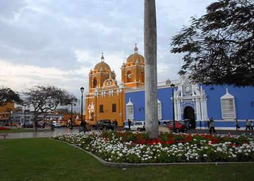 Trujillo cathedral on main plaza