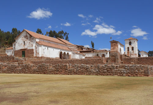 Chinchero - church