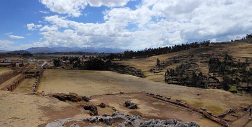 Chinchero - landscape panorama
