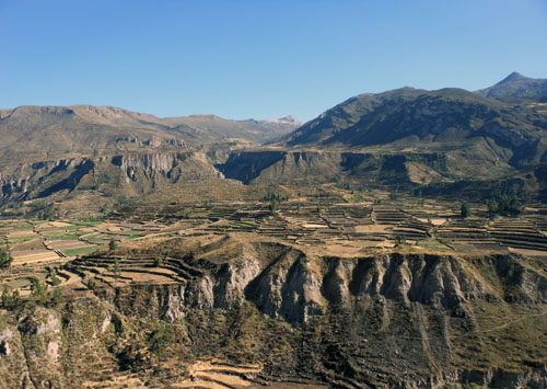 Colca Canyon - landscape views