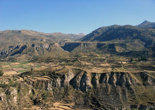 Colca Canyon - landscape views