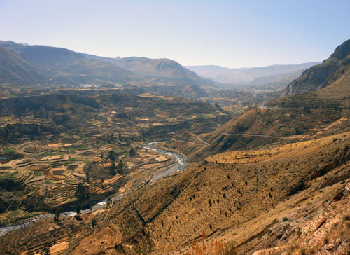 Colca Canyon - the Colca River