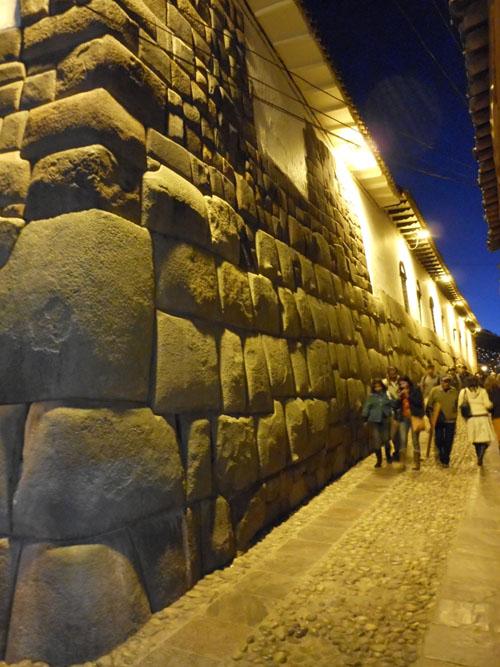 Cuzco - famous Inca wall