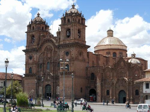 Cuzco - La Compania de Jesus on Plaza de Armas