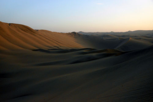 Huacachina - desert around the oasis
